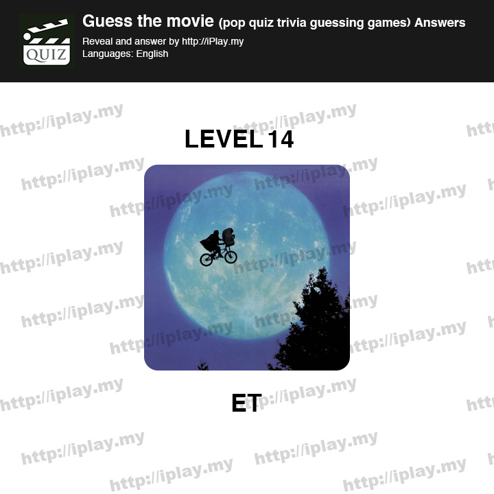 Guess the Movie Pop Quiz Answers | iPlay my
