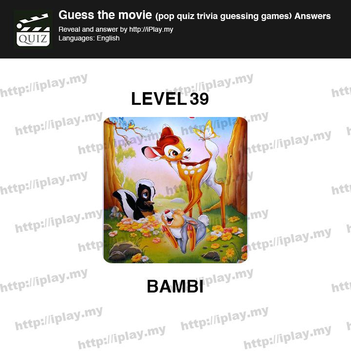 Level 39 Guess The Emoji Guess the Movie Pop Qu...