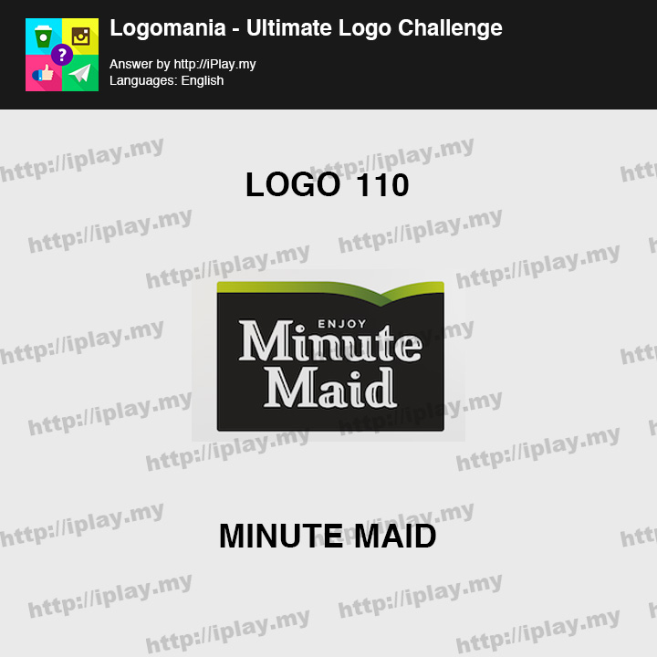 Logomania - Ultimate Logo Challenge Level 110