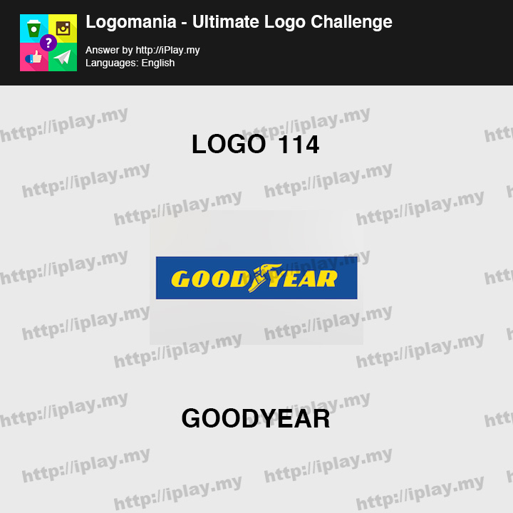 Logomania - Ultimate Logo Challenge Level 114