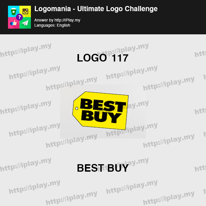Logomania - Ultimate Logo Challenge Level 117