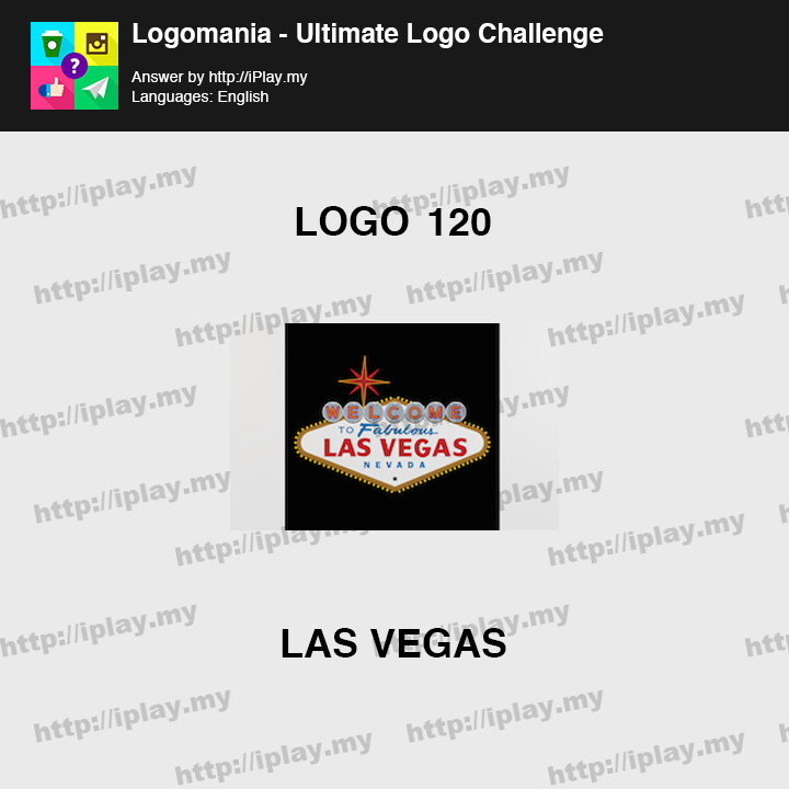 Logomania - Ultimate Logo Challenge Level 120