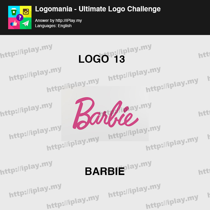 Logomania - Ultimate Logo Challenge Level 13