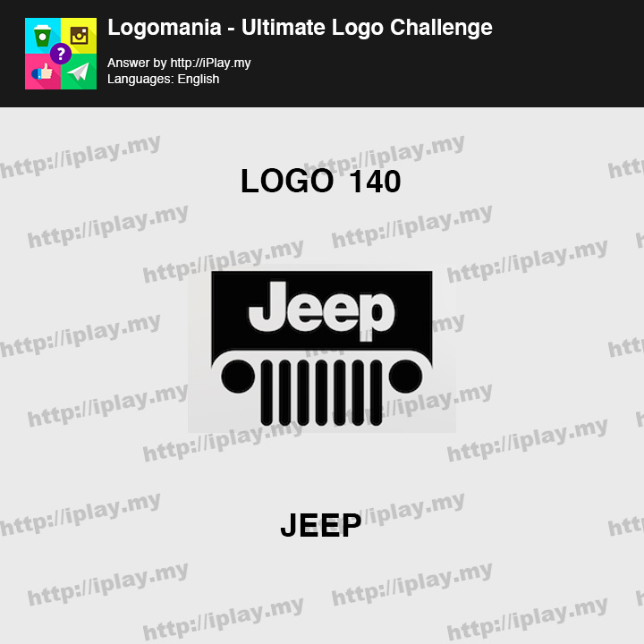 Logomania - Ultimate Logo Challenge Level 140