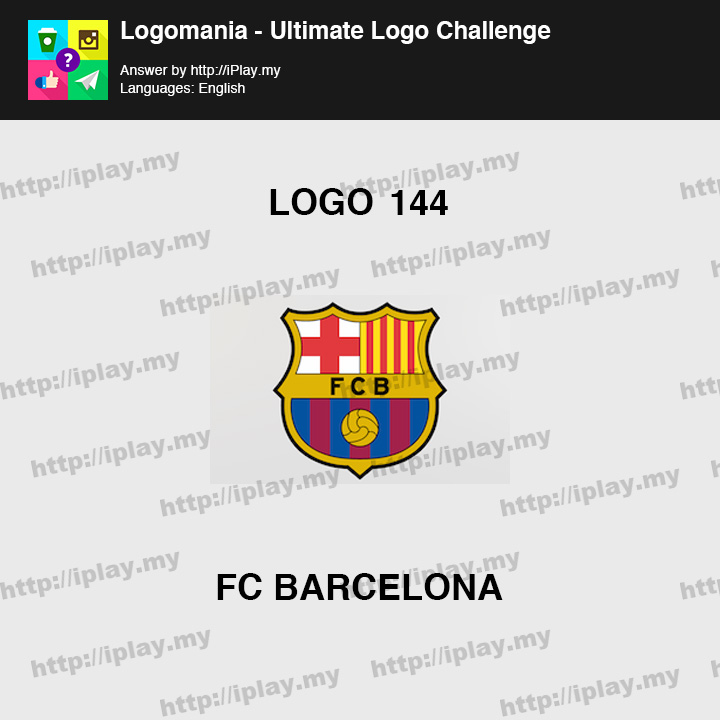 Logomania - Ultimate Logo Challenge Level 144