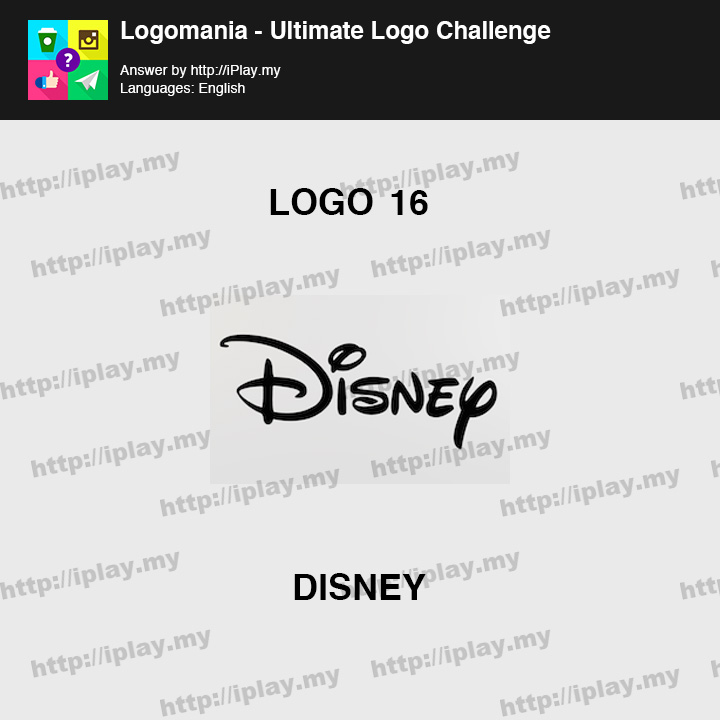 Logomania - Ultimate Logo Challenge Level 16