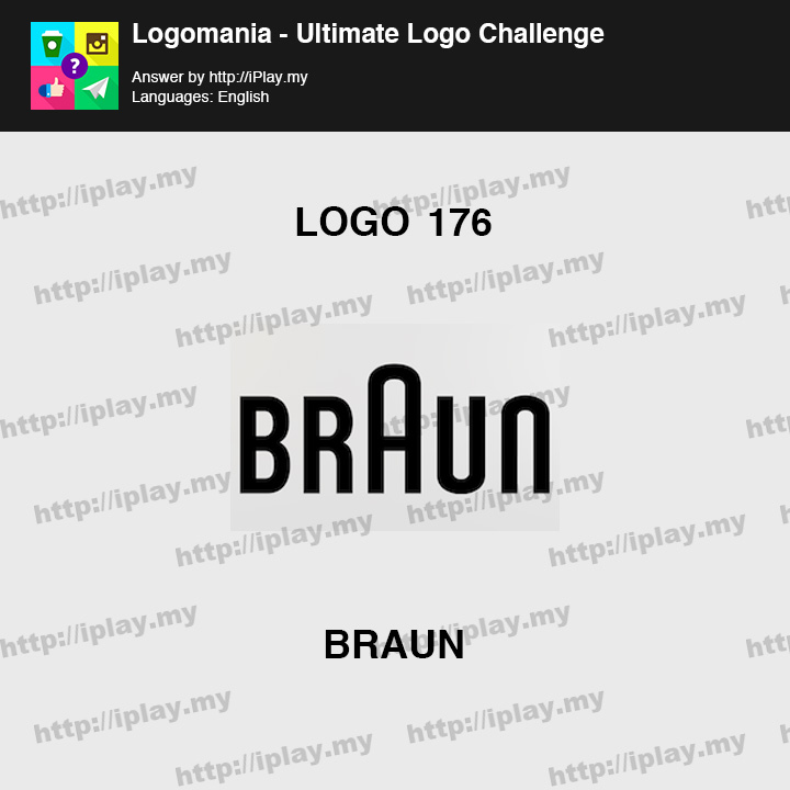 Logomania - Ultimate Logo Challenge Level 176