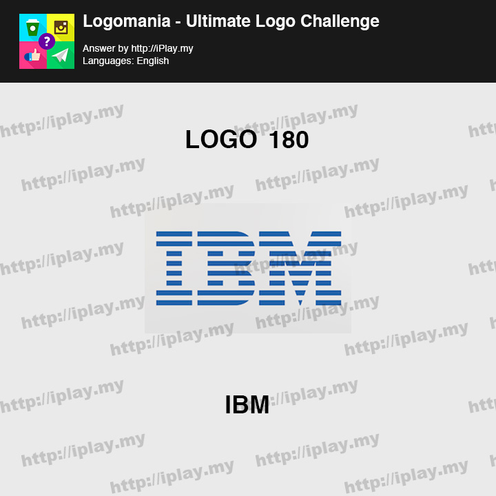 Logomania - Ultimate Logo Challenge Level 180