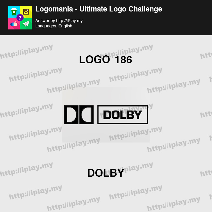 Logomania - Ultimate Logo Challenge Level 186