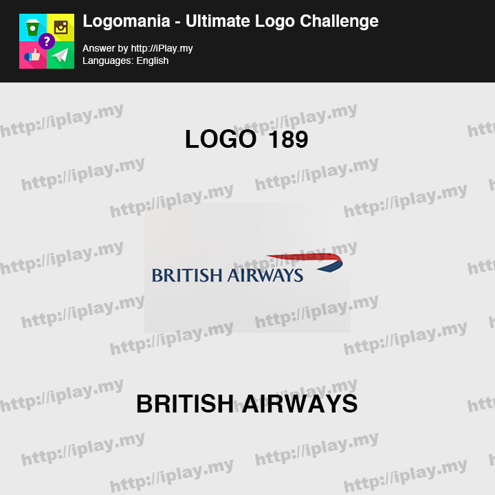 Logomania - Ultimate Logo Challenge Level 189