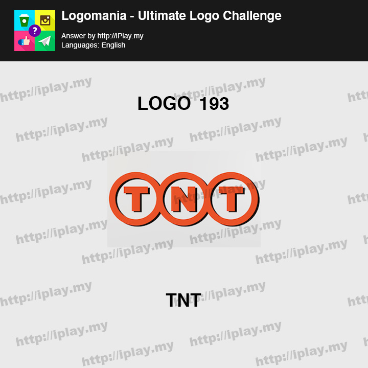 Logomania - Ultimate Logo Challenge Level 193