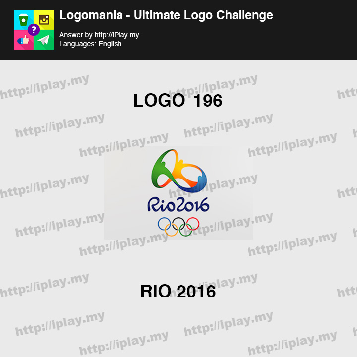 Logomania - Ultimate Logo Challenge Level 196