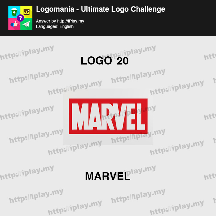 Logomania - Ultimate Logo Challenge Level 20