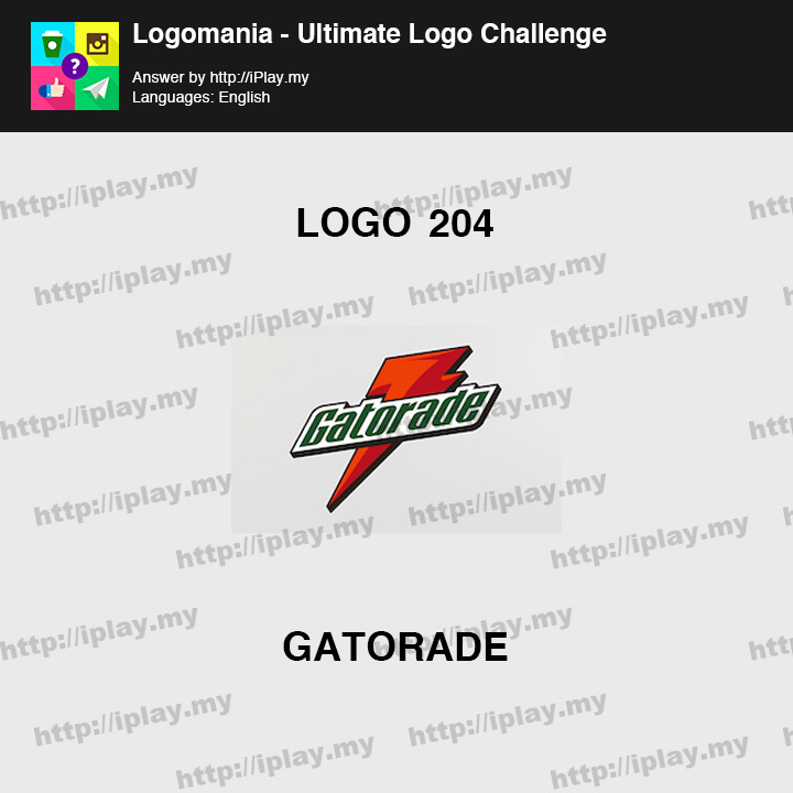Logomania - Ultimate Logo Challenge Level 204
