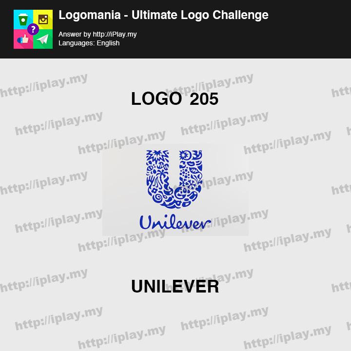 Logomania - Ultimate Logo Challenge Level 205