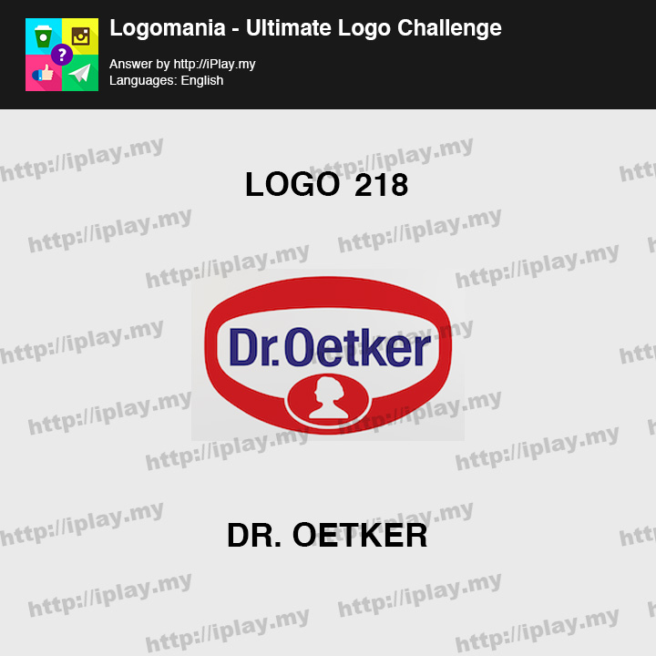 Logomania - Ultimate Logo Challenge Level 218