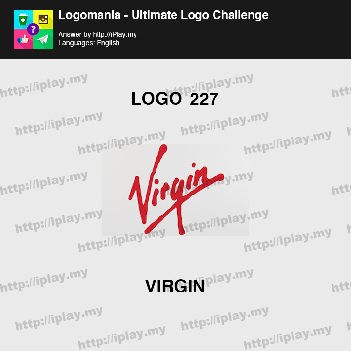 Logomania - Ultimate Logo Challenge Level 227