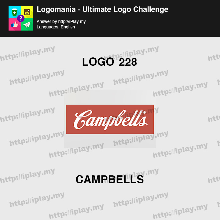 Logomania - Ultimate Logo Challenge Level 228