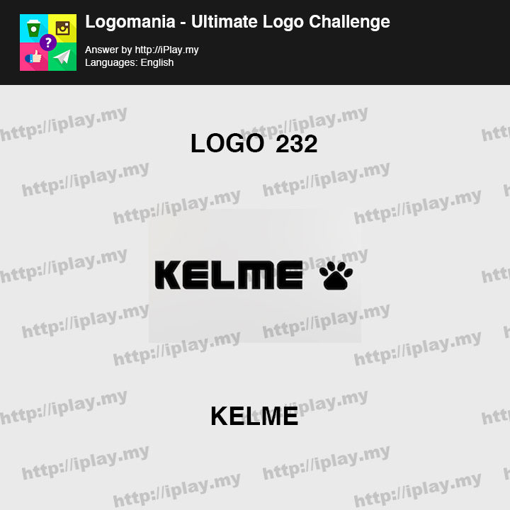 Logomania - Ultimate Logo Challenge Level 232