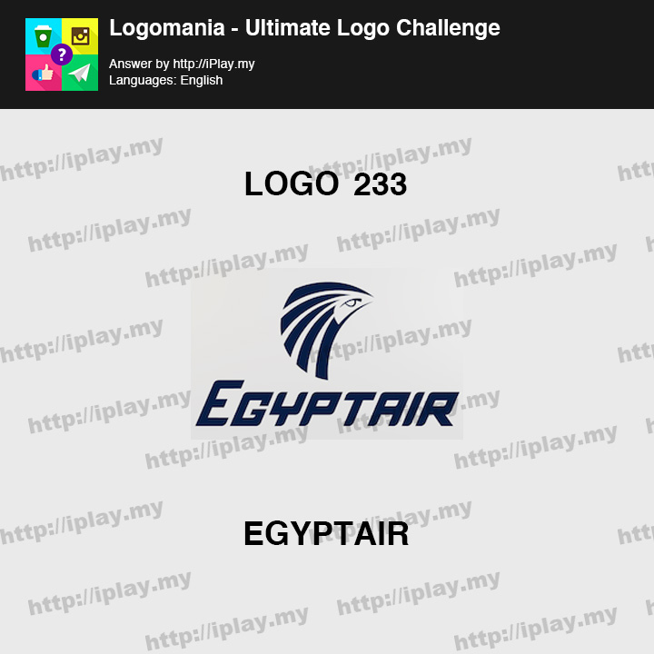 Logomania - Ultimate Logo Challenge Level 233