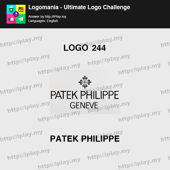 Logomania - Ultimate Logo Challenge Level 244