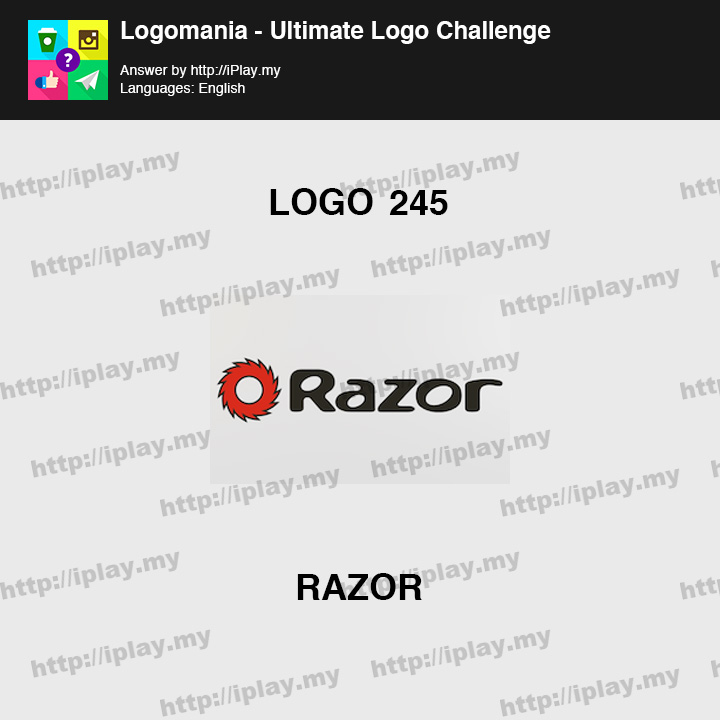 Logomania - Ultimate Logo Challenge Level 245