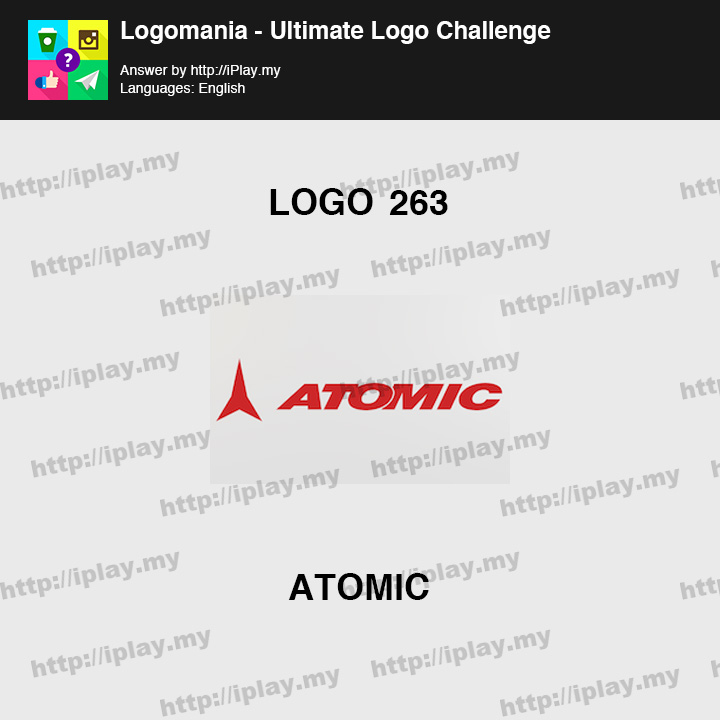 Logomania - Ultimate Logo Challenge Level 263