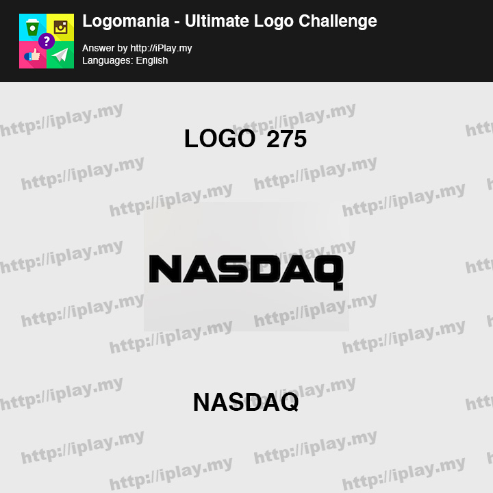 Logomania - Ultimate Logo Challenge Level 275