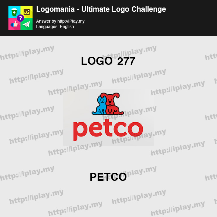 Logomania - Ultimate Logo Challenge Level 277