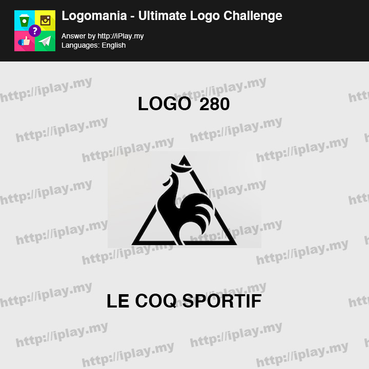 Logomania - Ultimate Logo Challenge Level 280