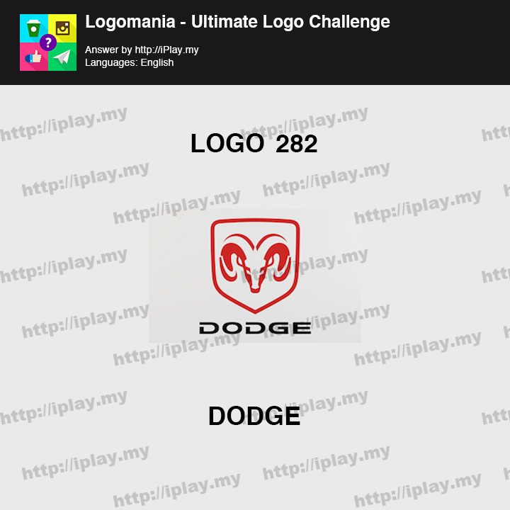 Logomania - Ultimate Logo Challenge Level 282