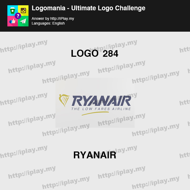 Logomania - Ultimate Logo Challenge Level 284