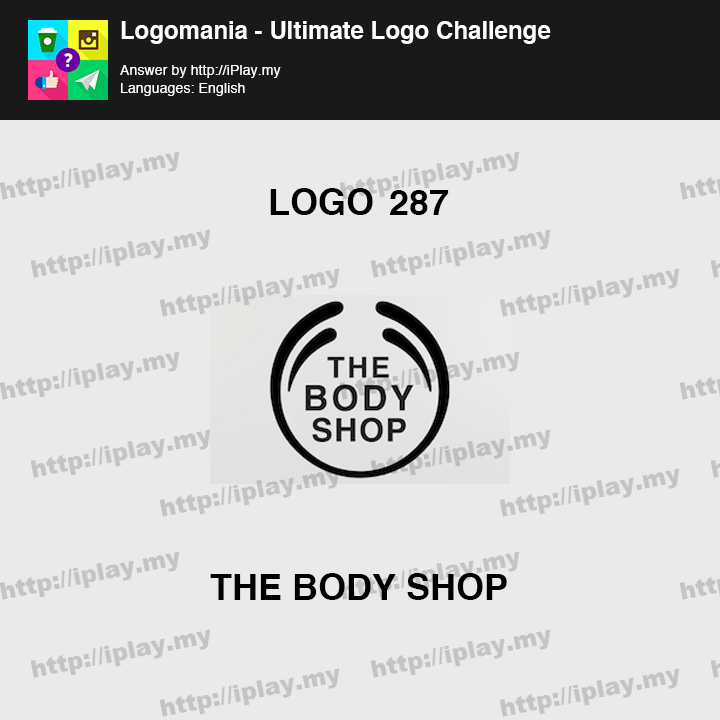 Logomania - Ultimate Logo Challenge Level 287