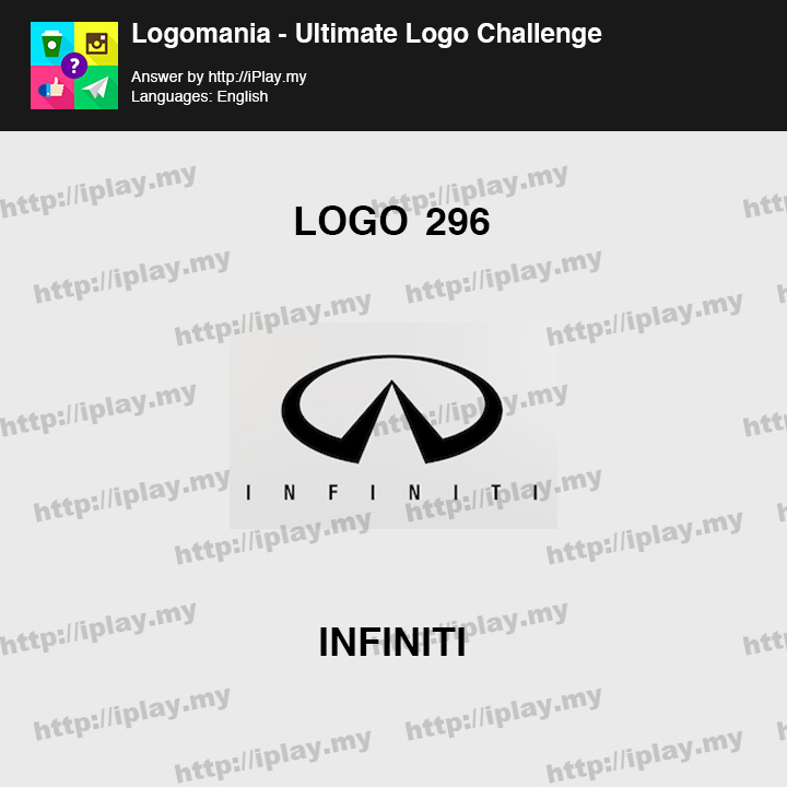 Logomania - Ultimate Logo Challenge Level 296