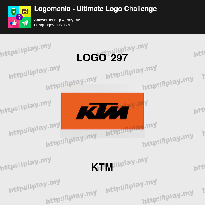 Logomania - Ultimate Logo Challenge Level 297