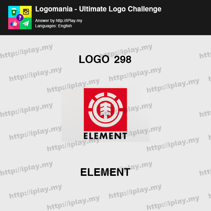 Logomania - Ultimate Logo Challenge Level 298