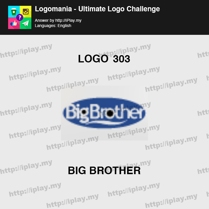 Logomania - Ultimate Logo Challenge Level 303