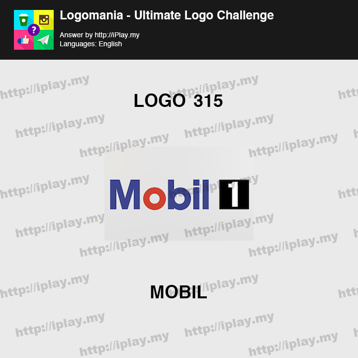 Logomania - Ultimate Logo Challenge Level 315