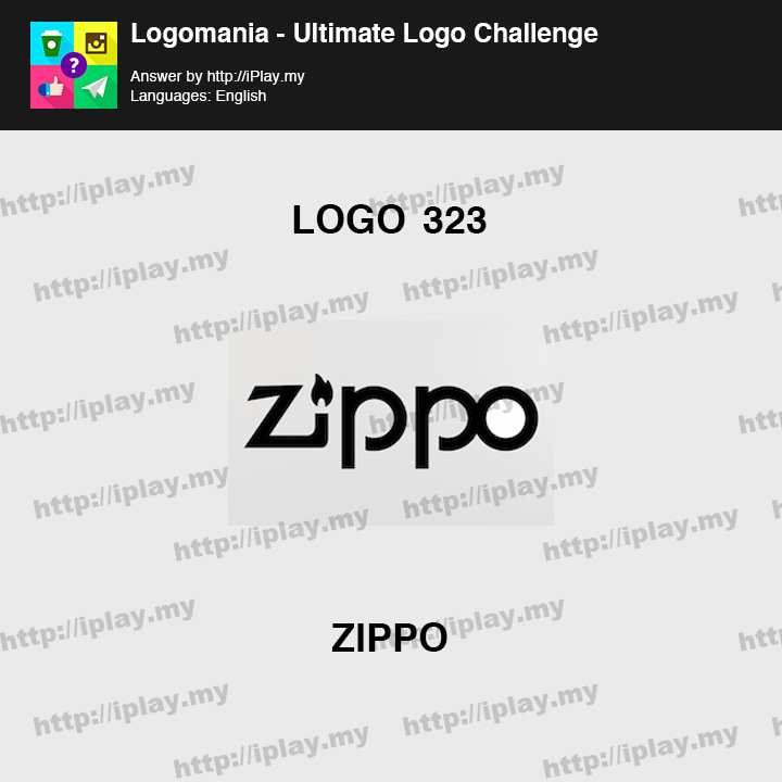 Logomania - Ultimate Logo Challenge Level 323
