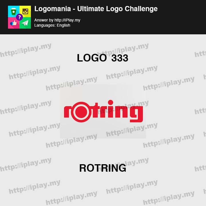 Logomania - Ultimate Logo Challenge Level 333