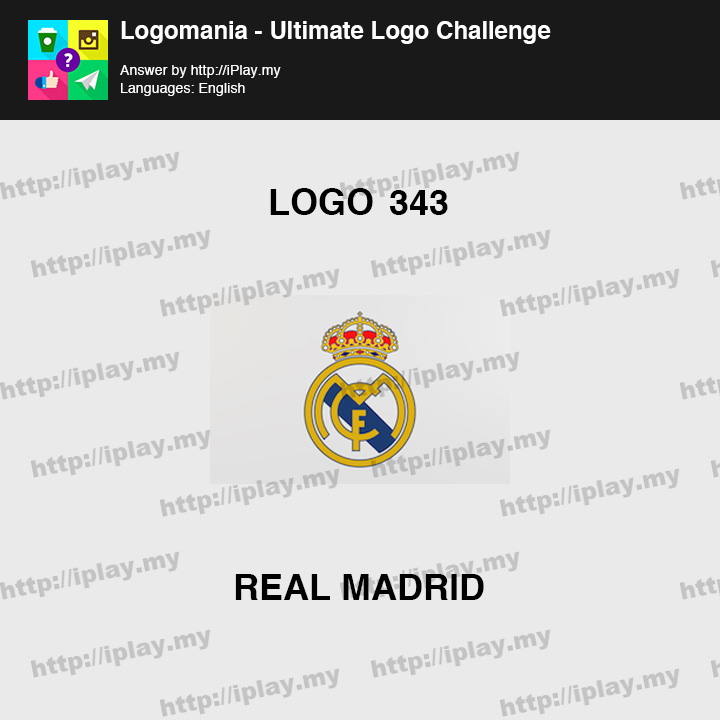 Logomania - Ultimate Logo Challenge Level 343