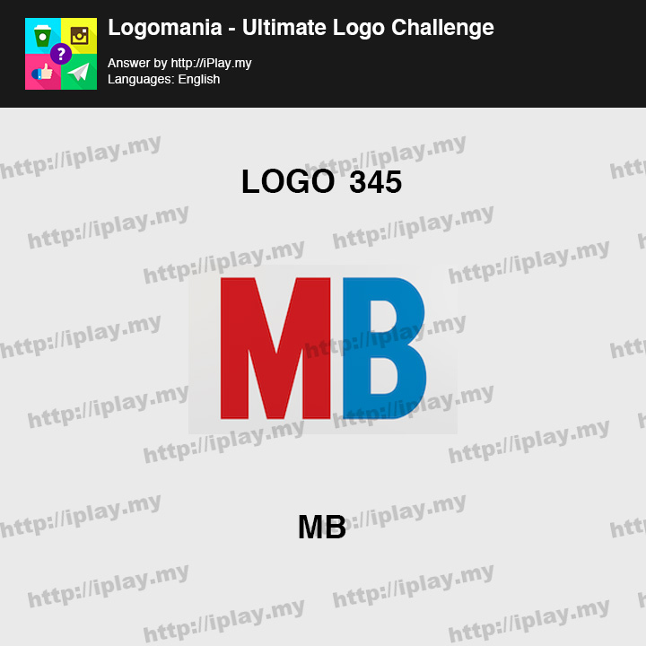 Logomania - Ultimate Logo Challenge Level 345