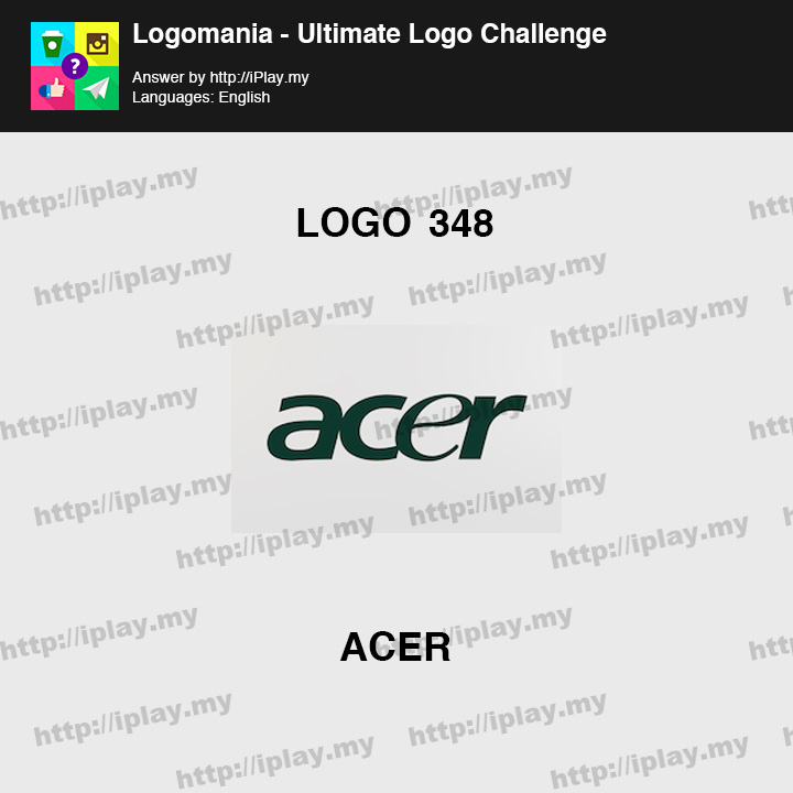 Logomania - Ultimate Logo Challenge Level 348