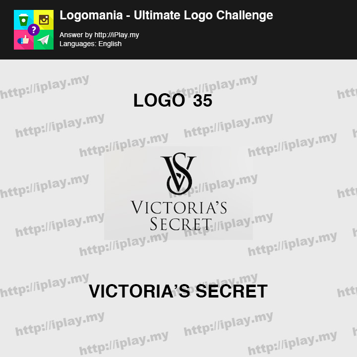 Logomania - Ultimate Logo Challenge Level 35