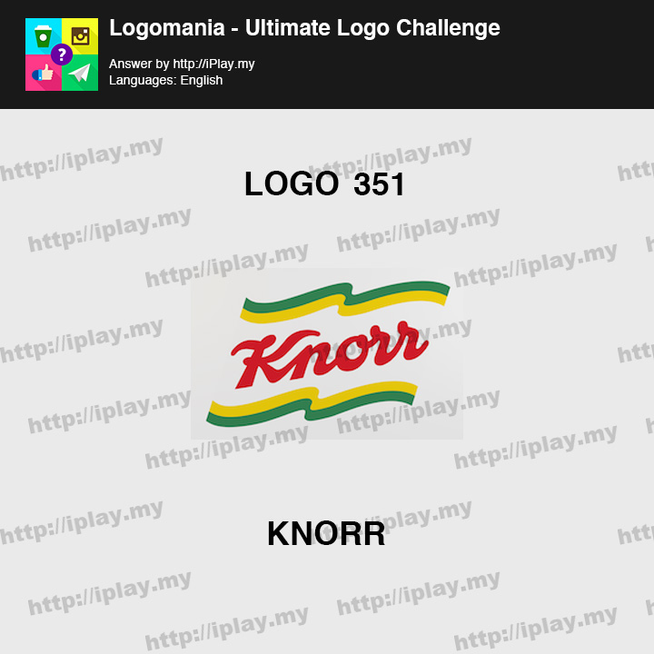 Logomania - Ultimate Logo Challenge Level 351