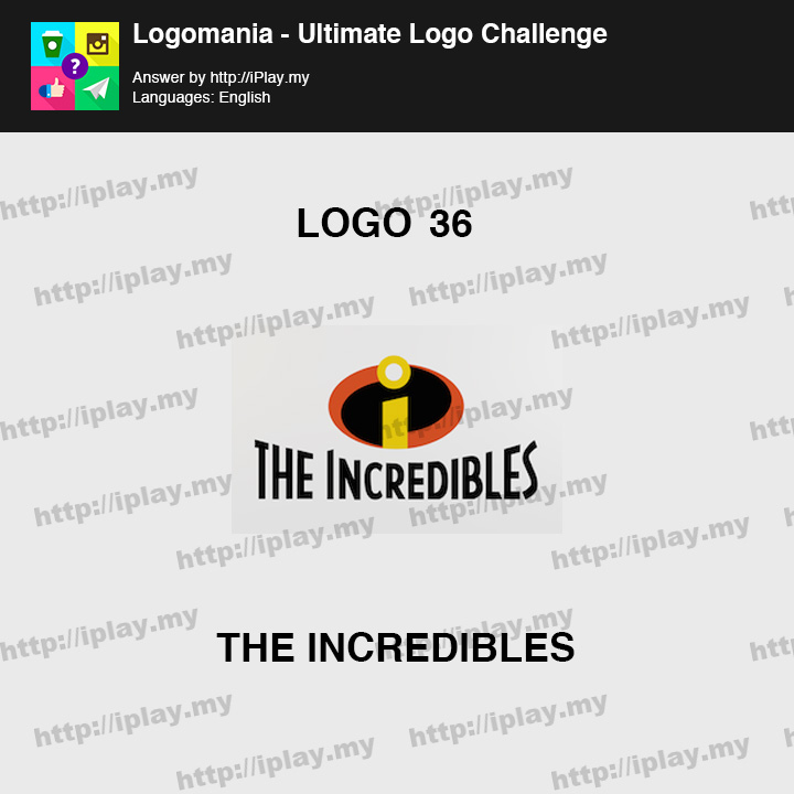 Logomania - Ultimate Logo Challenge Level 36