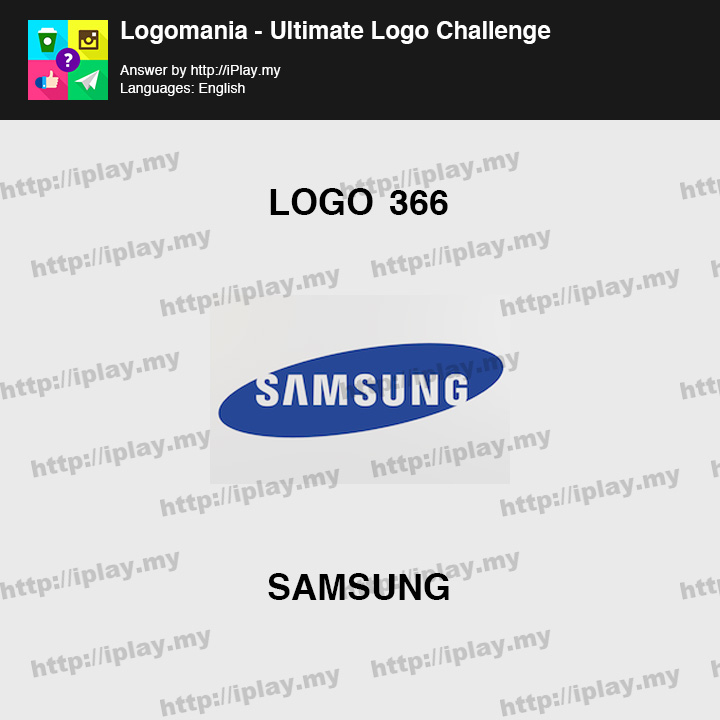 Logomania - Ultimate Logo Challenge Level 366