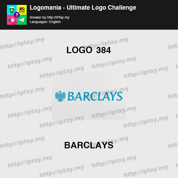 Logomania - Ultimate Logo Challenge Level 384