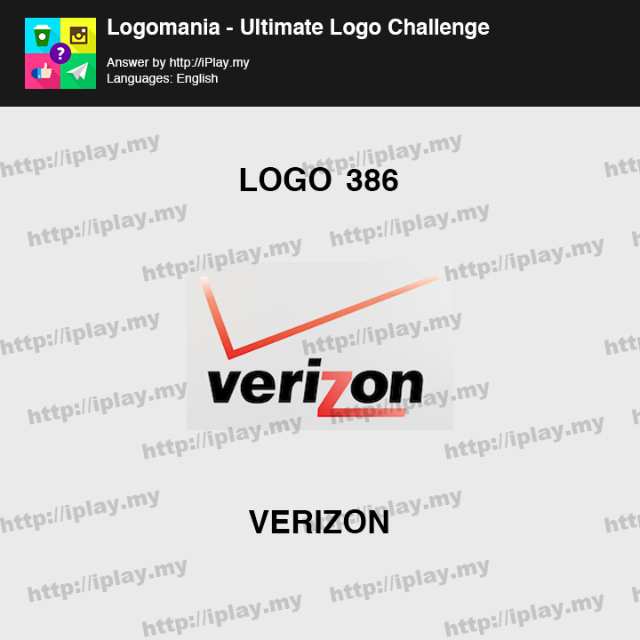 Logomania - Ultimate Logo Challenge Level 386