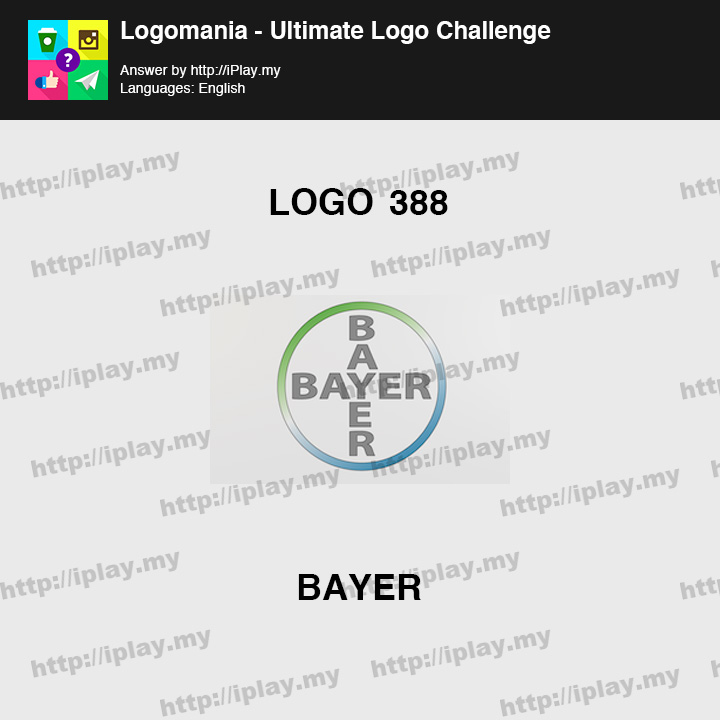 Logomania - Ultimate Logo Challenge Level 388